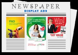 Newspaper Display ad